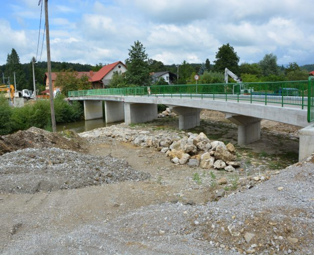 Bridge over Hudinja in Arclin, Vojnik