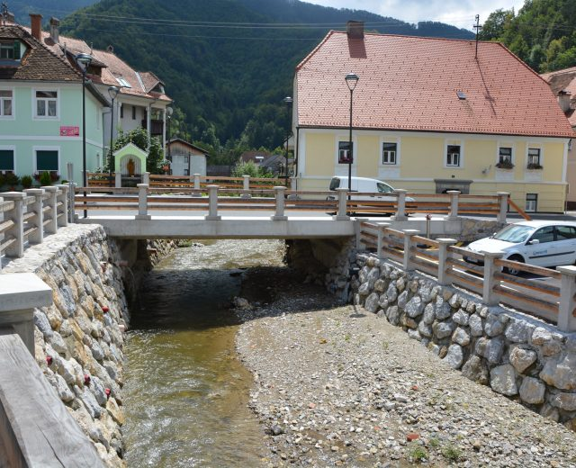 Bridge over Hudinja, Vitanje