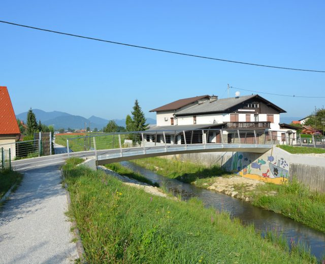 Bridge Ljubica on Ostrožno, Celje