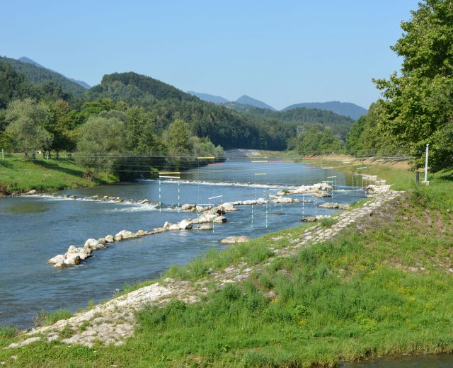 Regulation of Savinja and river bank in the area
